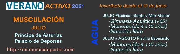 Actividades Verano 2021 Natacion Peques Musculacion